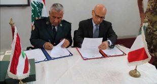 هبة معدات من وزارة الخارجية الإيطالية والتعاون الدولي لصالح لواء الحرس الجمهوري